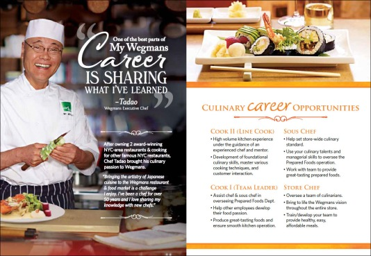 chef recruitment brochure- inside spread