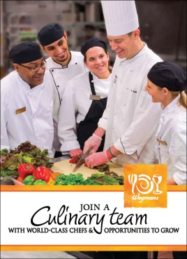 chef recruitment brochure cover